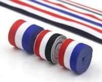 北京彩色装饰彩条织带