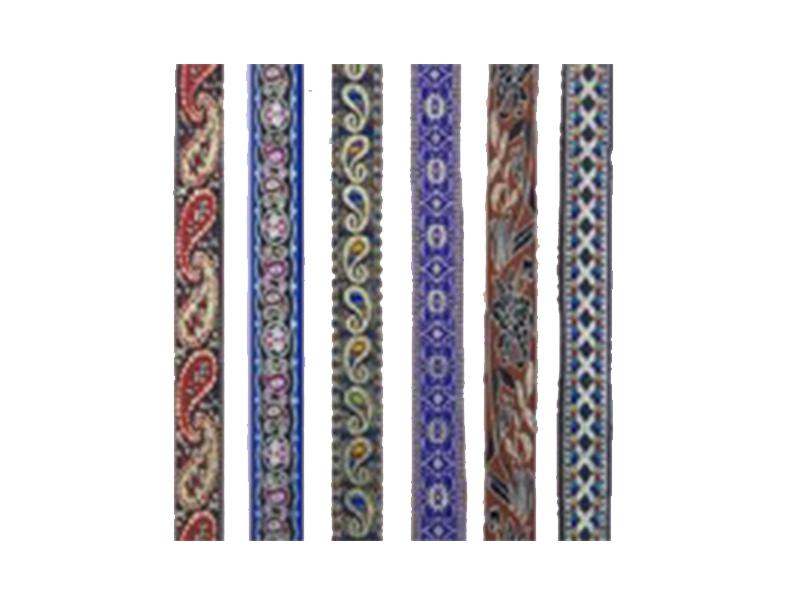 彩色印花织带