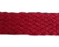 红色纬编织带