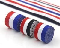 彩色装饰彩条织带