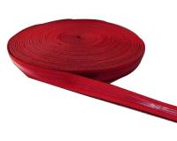 红色装饰彩条织带