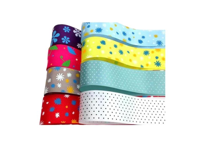 印花彩色织带
